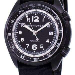 해밀턴 카 키 항공 파일럿 개척자 자동 H80485835 남자의 시계