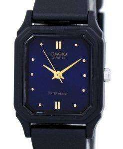 카시오 캐주얼 스포츠 아날로그 블루 다이얼 LQ-142E-2ADF LQ-142E-2A 여자의 시계