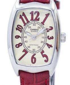 카시오 석 영 아날로그 LTP-1208E-9B2DF LTP-1208E-9B2 여자의 시계
