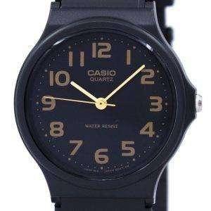 카시오 클래식 쿼 츠 블랙 스트랩 MQ-24-1B2LDF MQ-24-1B2L 남자 시계