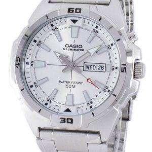 카시오 조명 아날로그 석 영 MTP-E203D-7AV MTPE203D-7AV 남자 시계