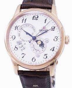 동양 자동 태양 및 달 RA AK0001S00B 남자의 시계
