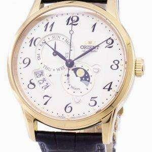 자동 태양 및 달 일본 RA AK0002S00B 남자의 시계를 만든