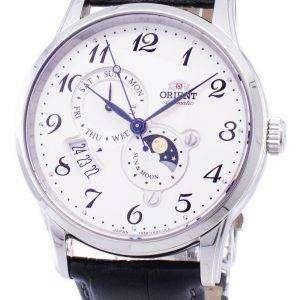자동 태양 및 달 일본 RA AK0003S00B 남자의 시계를 만든