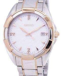 세이 코 쿼 츠 다이아몬드 악센트 SKK888 SKK888P1 SKK888P 여자의 시계