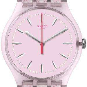 견본 원본 플 루 아날로그 석 영 SUOP109 여자 시계