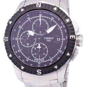 Tissot T-네비게이터 크로 노 그래프 자동 T062.427.11.057.00 T0624271105700 남자의 시계