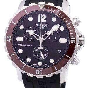 Tissot T 스포츠 Seastar 1000 크로 노 그래프 300m T066.417.17.057.01 T0664171705701 남자의 시계