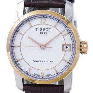 Tissot 티타늄 Powermatic 80 T087.207.56.117.00 T0872075611700 여자의 시계