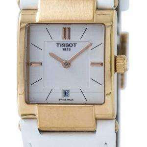 Tissot T-레이디 T02 석 영 T090.310.36.111.00 T0903103611100 여자 시계