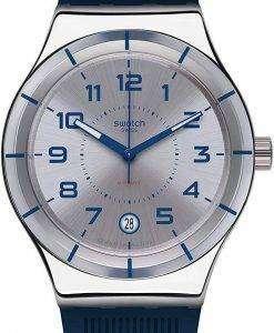 스와치 아이러니 시스템 해군 자동 YIS409 남자의 시계