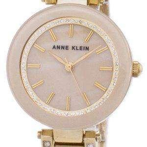 앤 클라인 쿼 츠 다이아몬드 악센트 1906TMGB 여자의 시계