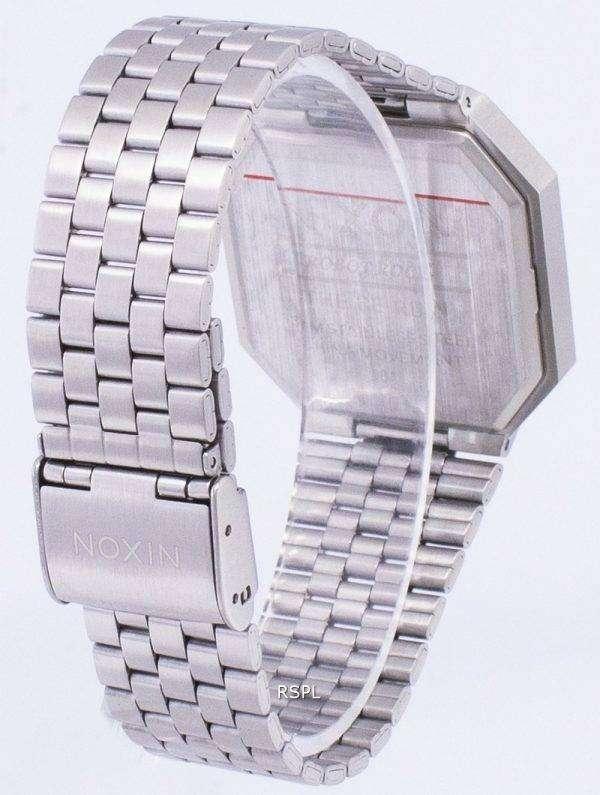 닉슨 다시 실행된 듀얼 타임 알람 디지털 A158-000-00 남자 시계