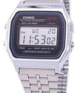 카시오 디지털 알람 크로 노 스테인리스 A159WA-N1DF A159WA-n 1 남자의 시계