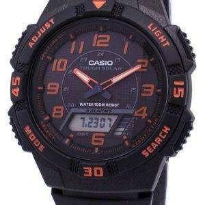 카시오 아날로그 디지털 힘든 태양 AQ-S800W-1B2VDF AQ-S800W-1B2V 남자의 시계