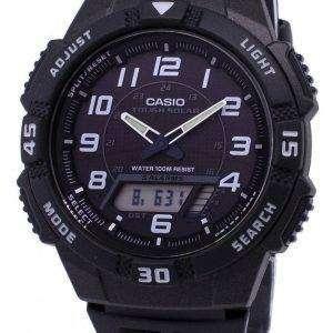 카시오 아날로그 디지털 청소년 시리즈 AQ-S800W-1BVDF AQ-S800W-1BV 남자 시계