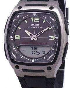 카시오 아날로그 디지털 Telememo 조명 AW-81-1A1VDF AW-81-1A1V 남자 시계