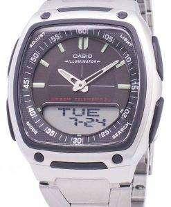카시오 아날로그 디지털 Telememo 조명 AW-81 D-1AVDF AW-81 D-1AV 남자 시계