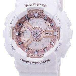 건반 베이비-G 세계 시간 아날로그-디지털 바-110-7A1 여자 시계