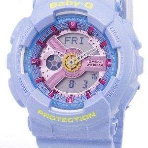 건반 베이비-G 아날로그 디지털 세계 시간 바-110CA-2A 여자 시계