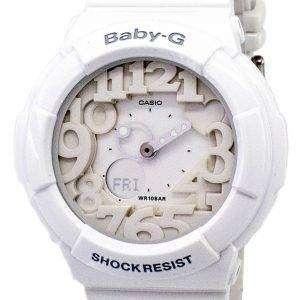 건반 베이비-G 아날로그 디지털 네온 조명 기 BGA-131-7B 여자 시계