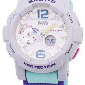 건반 베이비-G G Lide 타이 드 그래프 BGA-180-3B BGA180-3B 여자 시계