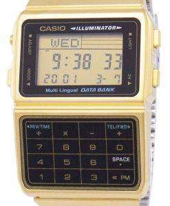카시오 디지털 스테인리스 데이터 은행 다국어 DBC-611 G-1DF DBC-611 G-1 남자의 시계