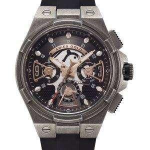 양자리 골드 영감 번개 석 영 G 7003 AS BKRG 남자 시계