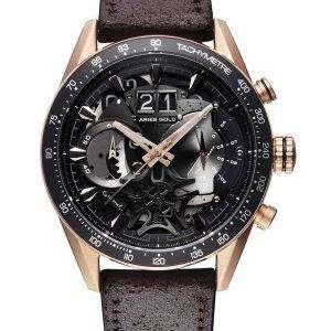 양자리 골드 영감 Jolter 석 영 G 7008 RG-보 리 남자 시계