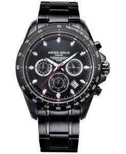 양자리 골드 영감 방 랑 자 크로 노 그래프 쿼 츠 G 7001 보 리-보 리 남자의 시계