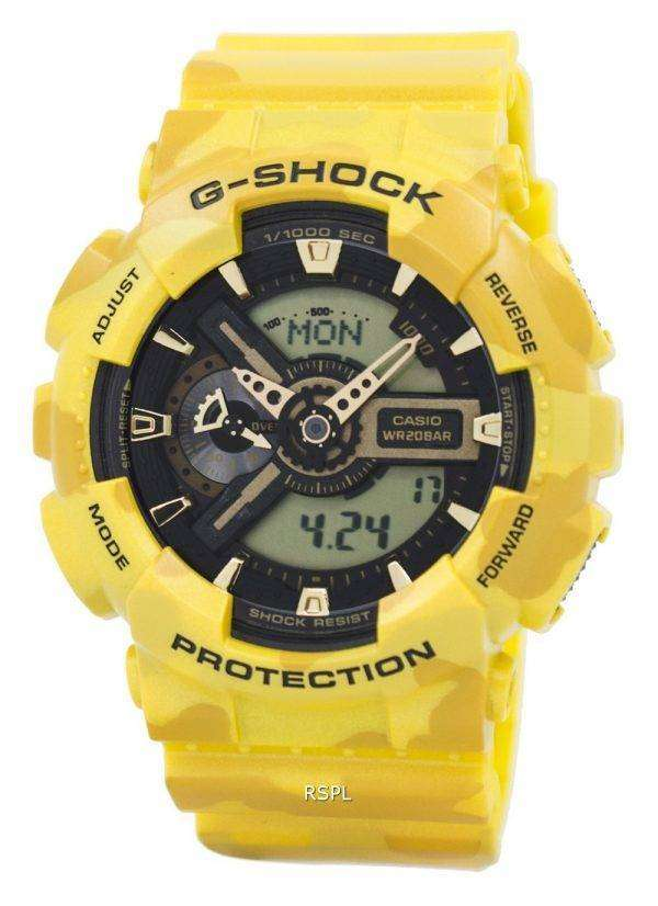 건반의 g 조-충격 위장 시리즈 아날로그-디지털이-110 CM-9A 남자 시계