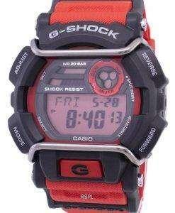 건반의 g 조-충격 플래시 경고 슈퍼 조명 기 GD-400-4 남자의 시계