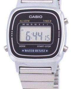 카시오 디지털 클래식 알람 타이머 LA670WA 1DF LA670WA-1 여자 시계