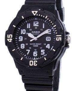 카시오 Enticer 아날로그 블랙 다이얼 LRW-200 H-1BVDF LRW-200 H-1BV 여자 시계