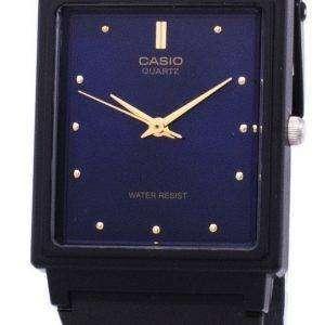 카시오 클래식 석 영 아날로그 블루 다이얼 직사각형 MQ-38-2ADF MQ-38-2A 남자의 시계