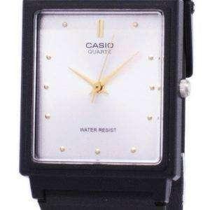 카시오 클래식 석 영 아날로그 화이트 다이얼 직사각형 MQ-38-7ADF MQ-38-7A 남자의 시계