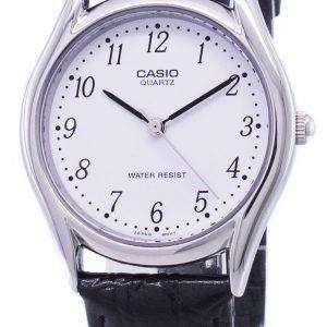 카시오 쿼 츠 화이트 다이얼 MTP-1094E-7BDF MTP-1094E-7B 남자 시계