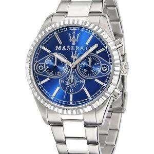 마 세라 티 Competizione 석 영 R8853100009 남자의 시계
