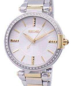세이 코 아날로그 석 영 다이아몬드 악센트 SRZ516 SRZ516P1 SRZ516P 여자의 시계