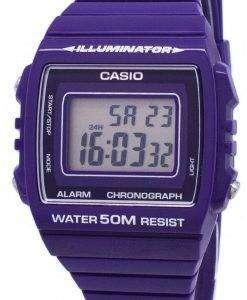 카시오 청소년 디지털 알람 크로 노 그래프 W-215 H-6AVDF W-215 H-6AV 남녀 시계