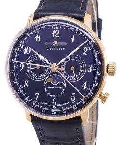 제 플 린 시리즈 LZ 129 힌덴부르크 독일 만든 7038-3 70383 남자의 시계