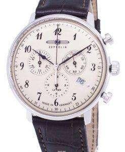 제 플 린 시리즈 LZ 129 힌덴부르크 ED.1 독일 만든 7086-4 70864 남자의 시계