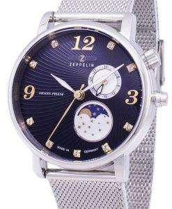 제 플 린 시리즈 루나 달 단계 독일 7637 M-3를 만든 7637 M 3 여자의 시계