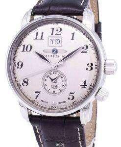 제 플 린 시리즈 LZ127 그라프 독일 만든 7644-5 76445 남자의 시계