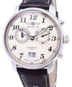 제 플 린 시리즈 LZ127 그라프 독일 만든 7684-5 76845 남자의 시계
