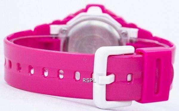 건반 베이비-G 핑크 세계 시간 BG-169R-4B 여자 시계