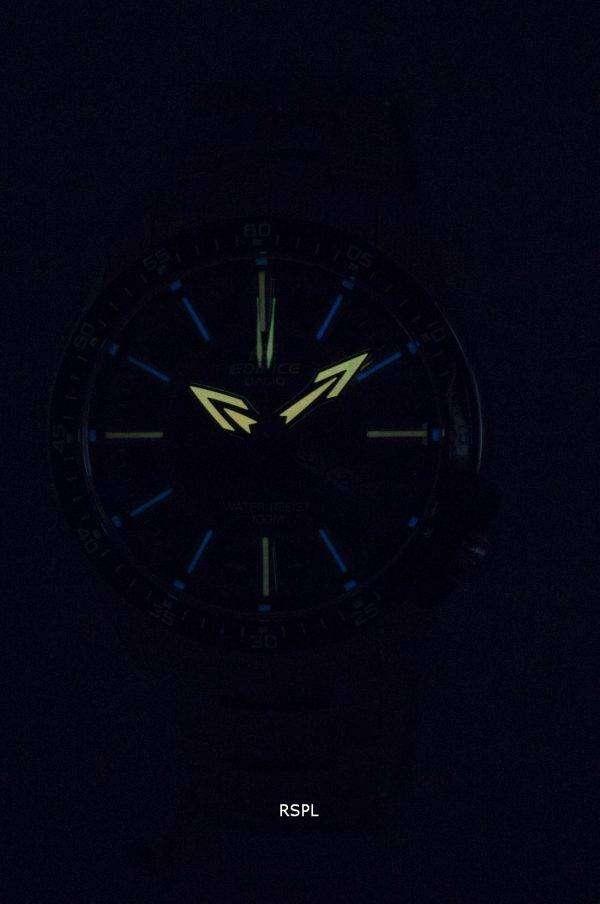 건반 건물 아날로그 멀티 컬러 다이얼 EF-130 D-1A5V 남자의 시계