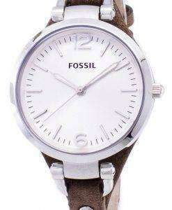 화석 조지아 실버 다이얼 ES3060 여자의 시계
