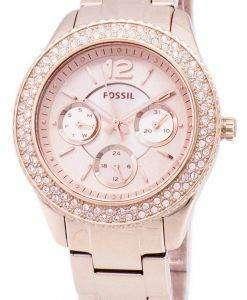 화석 스텔라 다기능 크리스탈 악센트 ES3590 여자의 시계