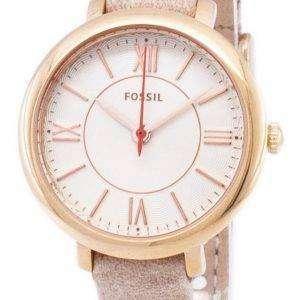 화석 재클린 석 영 ES3802 여자의 시계